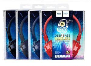Наушники+микрофон полноразмерные Bluetooth HOCO W25 Promise серые беспроводные, вер.5, накладные Цена