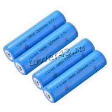 Аккумулятор 18650 3.7V, 2000/2200mAh, удлиненный плюсовой контакт Купить
