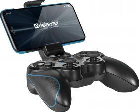 Геймпад Defender Blast, USB /PS2/PS3, блютуз, беспроводной, 12кнопок, АКБ Купить