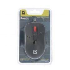 Мышь Defender MM-756 Point, черная, 1000dpi, USB Цена