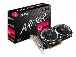Видеокарта AMD RX 570 ARMOR OC 4Gb <PCI-E> DDR5 256Bit 1268/7000MHz MSI Retail Купить