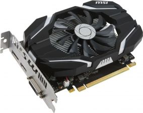 Видеокарта GeForce 1050GTX 2Gb <PCI-E> MSI OC 128bit DDR5 HDMI, DP, DVI Retail Купить