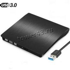 """Корпус с контроллером USB3.0 внешний для ноутбучного 9.5"""" привода RTL черный Купить"""