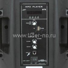 "Комбо-бокс колонка 8"" OM-803 OM&S USB/SD/FM/блютуз /дисплей /беспр.микр /пульт /подсветка Цена"