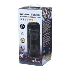 Мобильная колонка-плеер RS8879/ZQS-4220 Bluetooth /FM /microSD /USB /дисплей /TWS 10вт цвет в асс. Цена