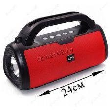 Мобильная колонка-плеер E816 Bluetooth /USB /MicroSD /FM /фонарь /подставка для телеф . Купить