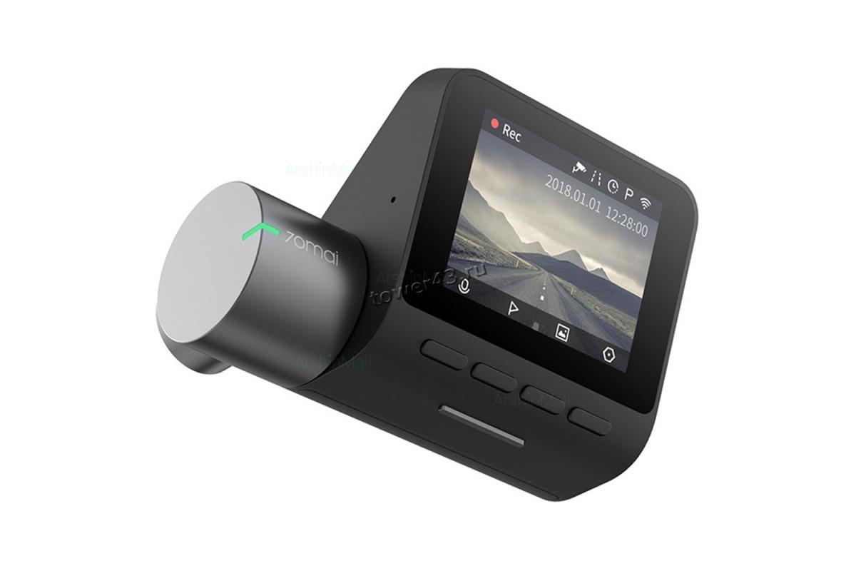 Автомобильный видеорегистратор 70mai Dash Cam Pro Midrive D02, 2592x1944х30к, 140г, оптика Sony +GPS