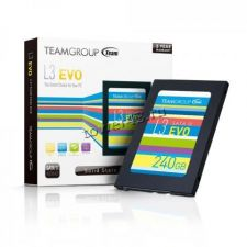 """Твердотельный накопитель 240Gb SSD 2.5"""" TeamGroup L3 EVO SATA3 530/470Мб/с Retail Купить"""