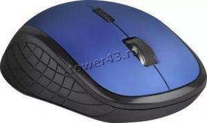 Мышь Defender Aero MM-775 5кн, 800 /1200 /1600dpi USB беспроводная, бесшумая, синяя Купить