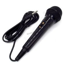 Микрофон динамический для караоке (проводной, черный) Купить
