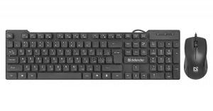 Комплект клавиатура+мышь Defender York C-777 RU, черный, мультимедиа Купить