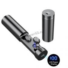 Наушники+микрофон вкладыши B9 TWS, BT5.0, зарядный бокс с LED дисплеем, сенс.упр., беспроводные Купить
