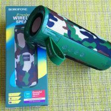 Мобильная колонка-плеер BOROFONE BR1 Bluetooth /USB /MicroSD /TWS (цвет в ассортименте) Купить