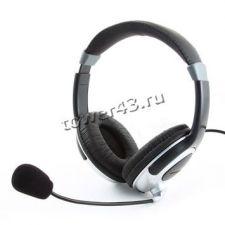 Наушники+Микрофон Gembird MHS-290 с регулятором громкости Купить