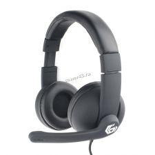 Наушники+Микрофон Gembird MHS-G220 игровые, с регулятором громкости (Printbar) Купить