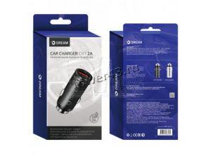 Автомобильное зарядное устройство DREAM DRM-CH7/CH8-01/DRM-SM03, USB, 2A (цвет в ассортименте) Rtl Купить