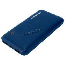 Внешний мобильный аккумулятор CROWN CMPB-604, Li-pol, 2хUSB, 10000mAh, 2A, синий Цены