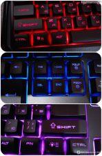 Клавиатура Jet.A GamingLine K19 LED, USB, игровая, черная, со светодиодной подсветкой Цена