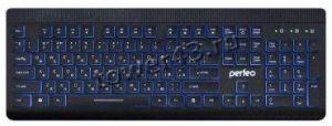 Клавиатура PERFEO (PF-843) Backlight подсв. кнопок черная, USB, мультимедиа Купить