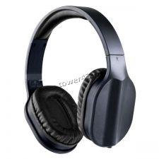Наушники Perfeo DUAL, накладные, черные, шнур в тканевой оплетке 1.2м Купить