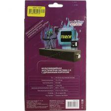 Колонки SmartBuy TORCH USB (черные) SBА-2560, рег.громкости, дерево Цена