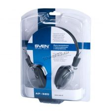 Наушники+Микрофон SVEN AP-520, шнур 2.2м, регулятор громкости Цена
