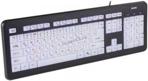 Клавиатура Sven Comfort 7300EL, USB с подсветкой Купить