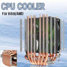 Вентилятор Kllisre (all Socket), до 200Вт, 6тепл.трубок, 1 вентилятор, 800-2200об, PWM, 4пин Купить