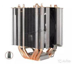 Вентилятор Kllisre (all Socket), до 200Вт, 6тепл.трубок, 1 вентилятор, 1600об, 3пин Купить