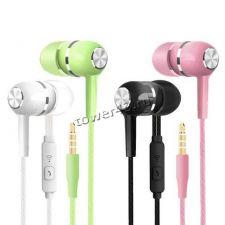Наушники+микрофон HONGBIAO SM вкладыши (цвет в ассортименте) Купить