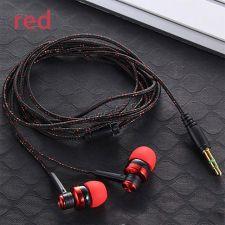 Наушники MIIQNUS вкладыши текстильный кабель (цвет в ассортименте) Купить