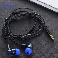 Наушники MIIQNUS вкладыши текстильный кабель (цвет в ассортименте) Цена
