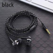 Наушники MIIQNUS вкладыши текстильный кабель (цвет в ассортименте) Цены