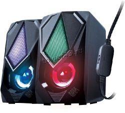 Колонки QUMO MASK AS004 10Вт USB, RGB-подсветка Купить