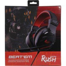 Наушники+Микрофон SmartBuy RUSH BEAT'EM (цвет в ассортименте) игровые Цена