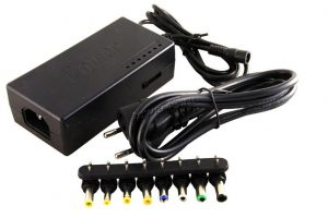 Универсальный адаптер питания для ноутбуков DREAM DRM-NA1-01 96W 12-24V с набором переходников Купить