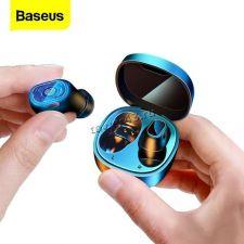 Наушники+микрофон вкладыши BASEUS ENCOK WM01, с зарядным боксом беспроводные (цвет в ассортименте) Купить