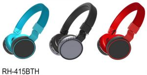 Наушники+микрофон полноразмерные RITMIX RH-415BTH, MP3, FM, microSD, AUX, эквалайзер (цвет в ассорт) Купить