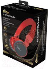 Наушники+микрофон полноразмерные RITMIX RH-415BTH, MP3, FM, microSD, AUX, эквалайзер (цвет в ассорт) Цена