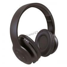 Наушники+микрофон полноразмерные Perfeo SOLE, MP3 плеер, AUX, до10ч, складные, черные Купить
