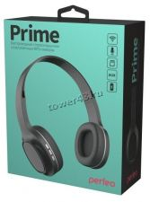 Наушники+микрофон полноразмерные Perfeo PRIME, MP3, FM, microSD, AUX Цена