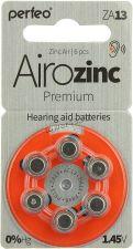 Цинковый дисковый элемент Perfeo ZA13 ActivAir (для слуховых аппаратов) Купить