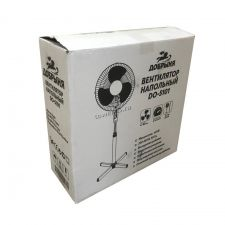 Вентилятор Добрыня DO-5101G 40 Вт, 3 скорости вращения, подсветка, шнур 1.8м,высота до 1.2м, решетка Цена
