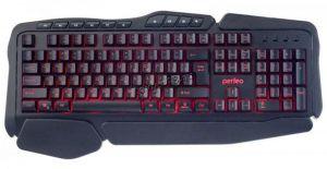 Клавиатура PERFEO (PF_A4390) STRIKE игровая подсв. кнопок черная, USB, мультимедиа Цена