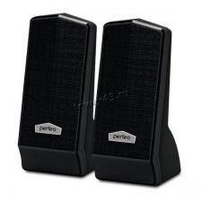 Колонки Perfeo Cursor, USB 2х3Вт черные PF-4879 USB Купить