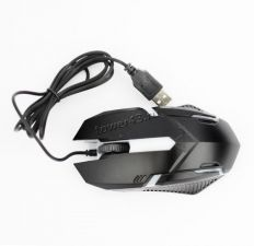 Мышь DREAM Q52 (1600 dpi, 7 цветная пдсветка) игровая черная Купить