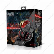 Наушники+Микрофон SmartBuy RUSH CRUSH'EM (цвет в ассортименте) игровые Цена