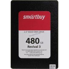 """Твердотельный накопитель 480Gb SSD 2.5"""" Smartbuy SATA3 TLC R500Mb/s, W380Mb/s Rtl Купить"""