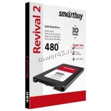 """Твердотельный накопитель 480Gb SSD 2.5"""" Smartbuy SATA3 TLC R500Mb/s, W380Mb/s Rtl Цена"""