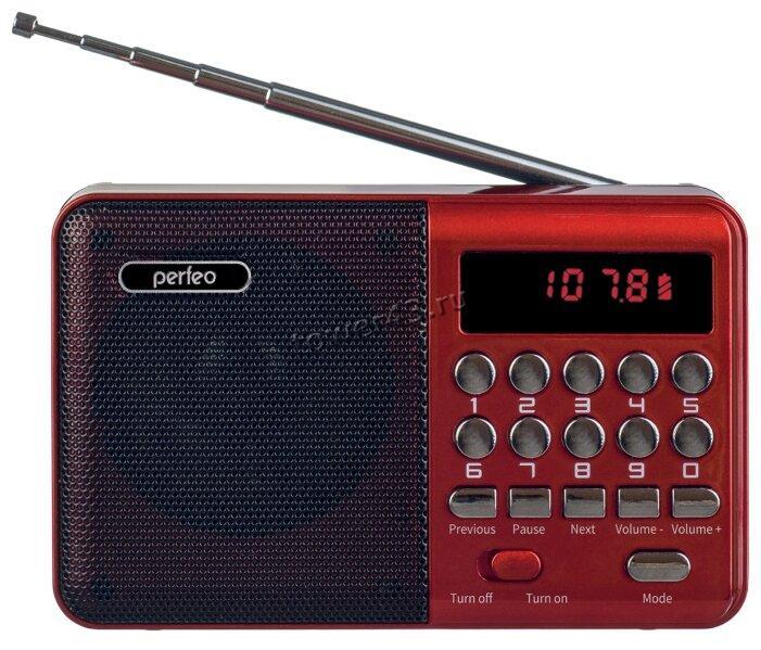 Радиоприемник Perfeo PALM i90 USB /microSD /FM /AUX аккумулятор 18650